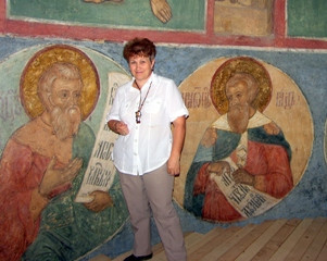 Icons restored by Olga Sokolova will be exhibited in People's House