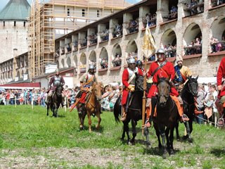"Festival of Historical Reenactment ""Kirillo-Belozersky Siege"""