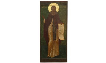 Rare icons will be exhibited in Kirillo-Belozersky Museum-Reserve