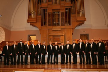 Male choir of Vologda Philharmonic Society gives concert in Kirillo-Belozersky Museum-Reserve